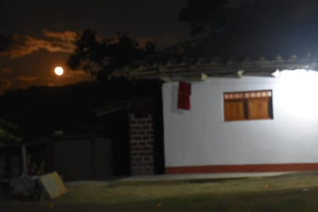 Casa tipica para el ecoturismo y turismo vivencial