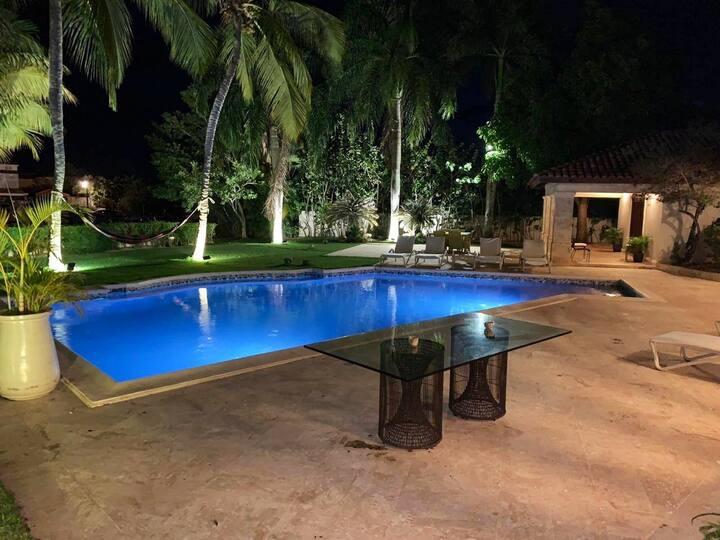 Villa En La Marina con Sauna, Calentador Piscina,+