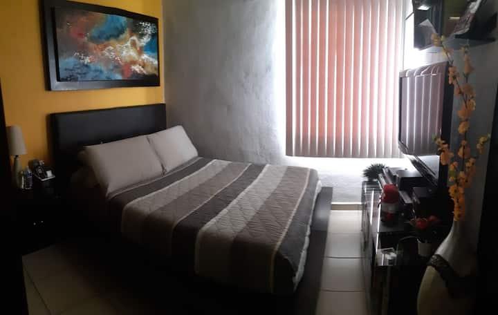 Cómoda habitación en Mazatlán