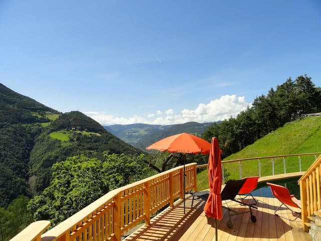 Maso Brentwaldhof Eiche - Cornedo all'Isarco - Apartment