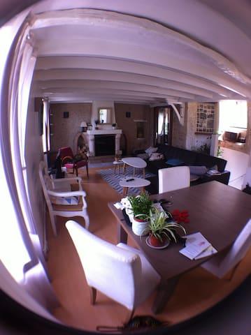 Chambre dans maison de village proche Périgueux - Saint-Laurent-sur-Manoire - Casa