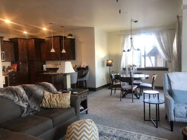Beautiful 2BR condo with views minutes to PC!