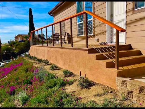 Modern mountain guest house. Incredible views