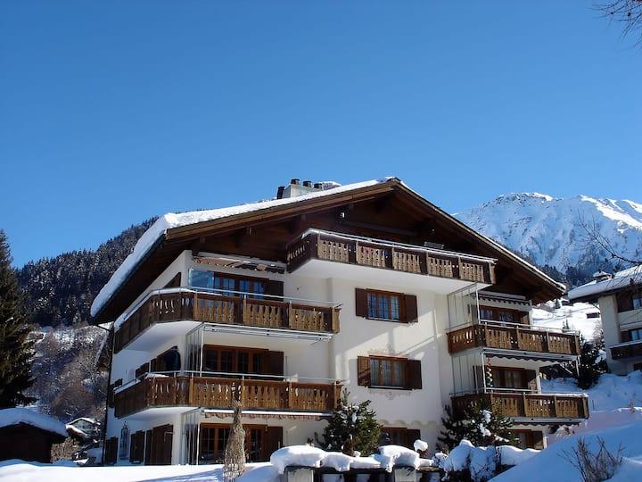 3 ½ Zimmer Haus Clostergarten, Klosters