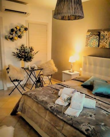 Sperlonga in villa privata esclusiva camera
