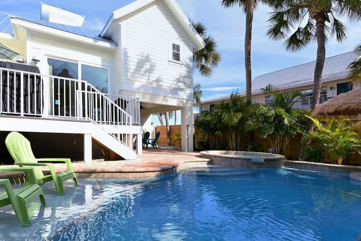 Gorgeous home w/ private heated pool, sun deck, & backyard