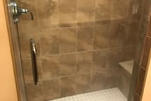 Spa like shower