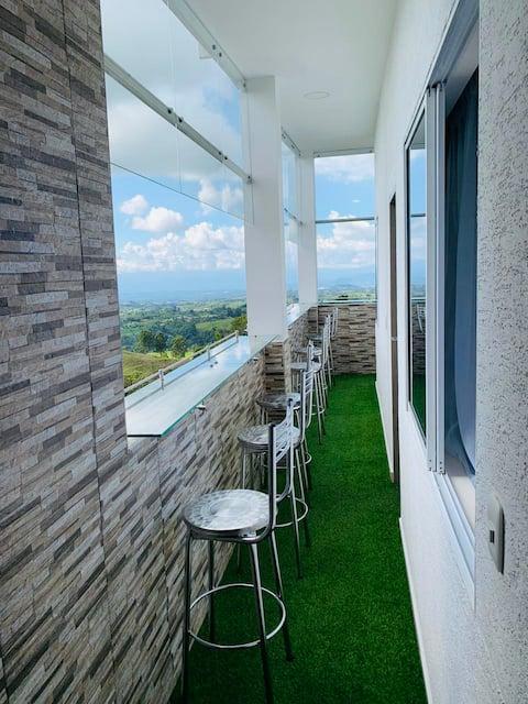 PentHouse, Vista hermosa Apartments Filandia Q