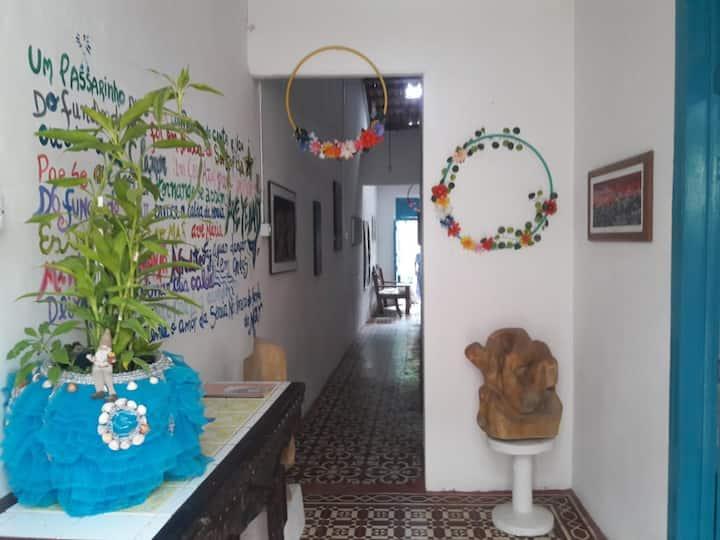 Casa/Galeria Olinda Olho d'arte -  Quarto Zé Som