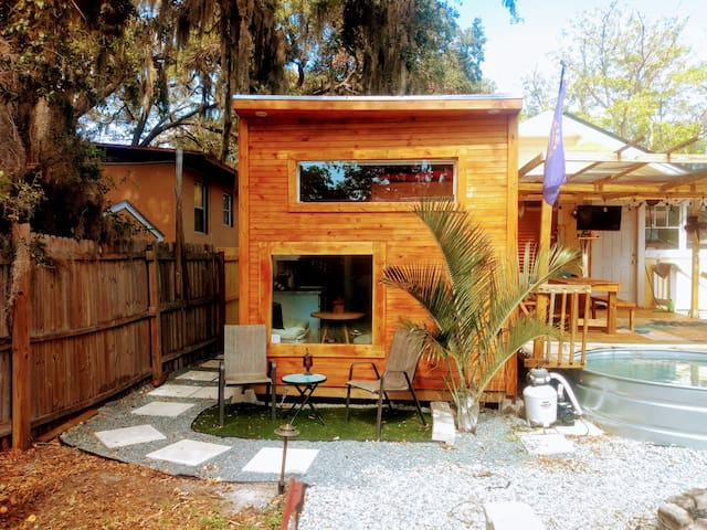 Hidden Gem Tiny Home with Backyard Coolness