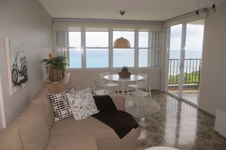 Beach front & ocean view apartment - Luquillo
