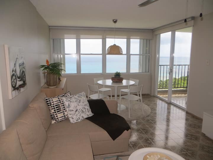 Beach front & ocean view apartment