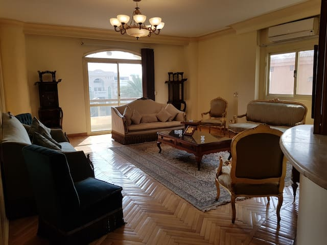Apartment with Balcony in Choueifat Area,New Cairo