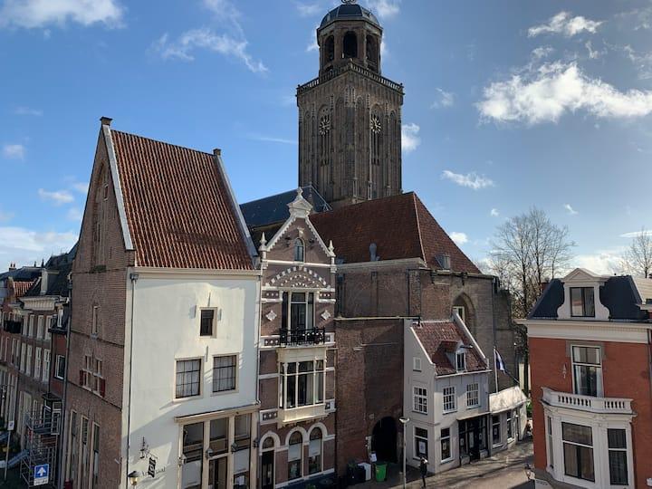 Privé kamers in Hostel Deventer in het centrum.