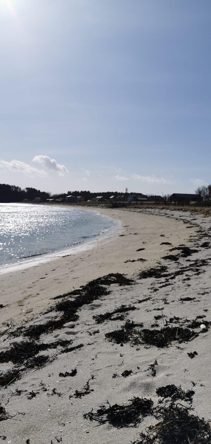 Beian, beliggenhet ved sjøen i Ørland