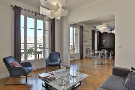 Chambre Nice centre dans grand appartement bnb