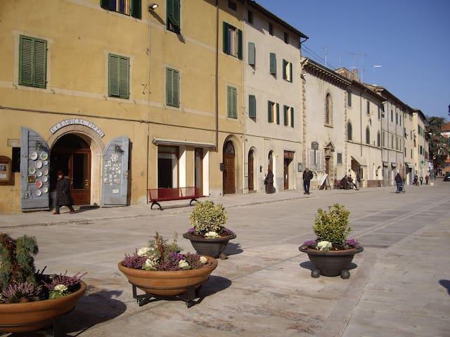 Une chouette maison en Toscane