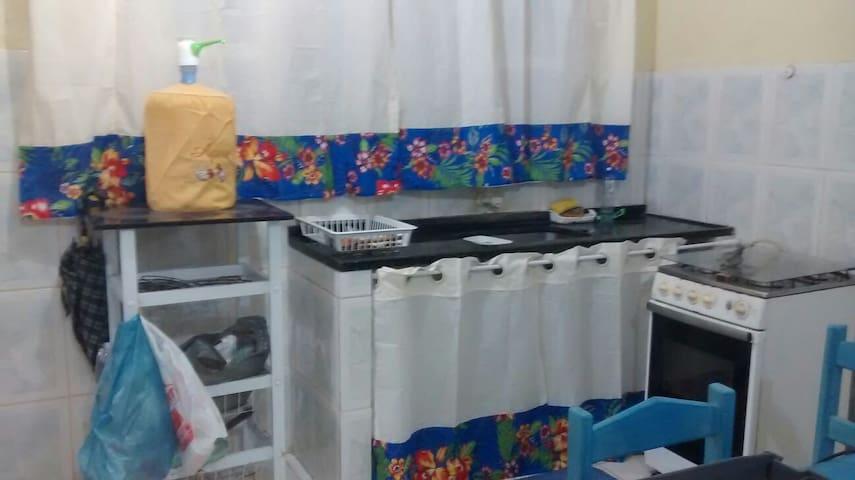 Vista parcial da cozinha