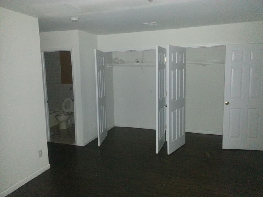 Two very big closets