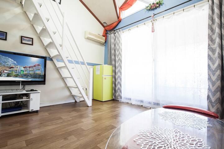 내 집같은  편안함과  놀거리를  제공하는 REMEMBERTOUR PENSION-에델바이스