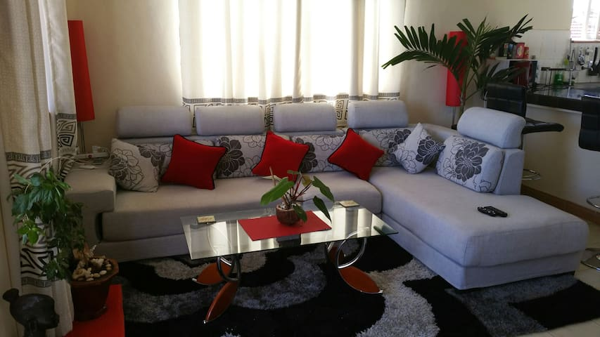 1 Bedroom apt in nyali 10mn walk to the beach&mall