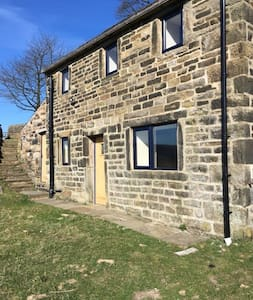 Secluded cottage off the Pennine bridle way