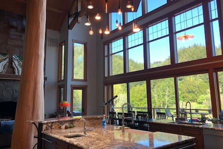 Elk River Property, The Chrome Suite with a view!