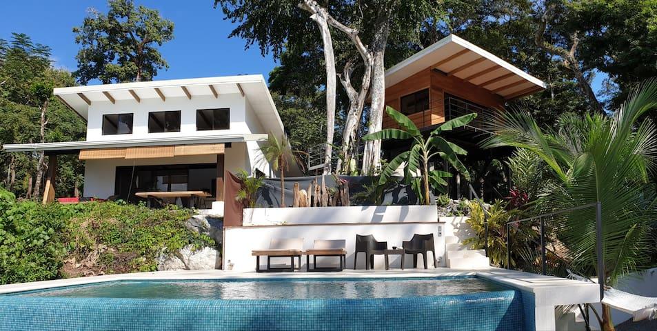 Maison au calme au milieu de la jungle