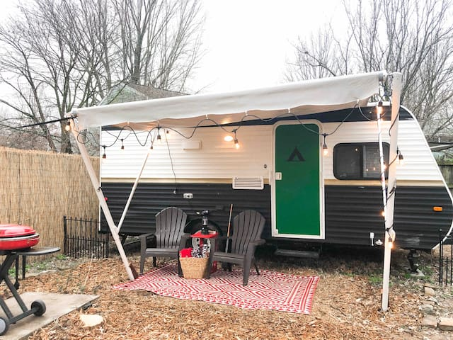 The Happy Camper - RV with Outdoor Oasis!