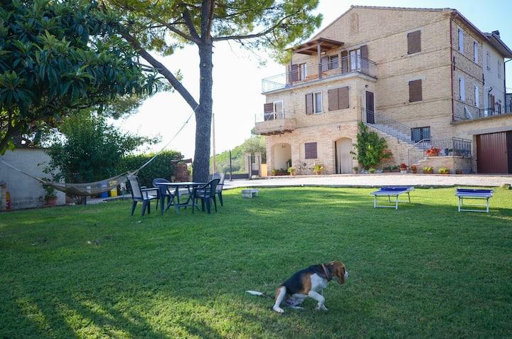 Farmhouse Galanti  sea View 2+2 (Manu apartment)