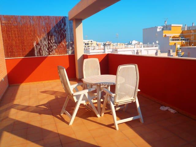Appartement près de la plage - Oliva - Daire
