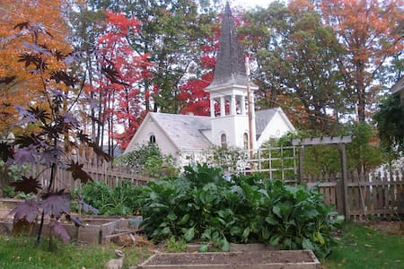 Charming studio in renovated 19th century church. - Brattleboro - Ház