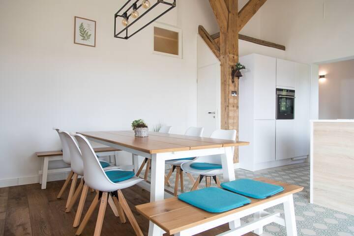 Modernes Haus Landzeit nahe Nordsee & Stadt Esens