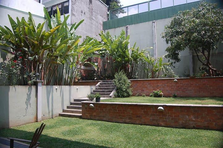 garden where you can get a great tan