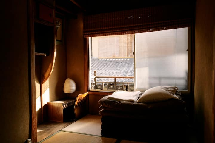 Japanese Single Room In Classic Japanese House
