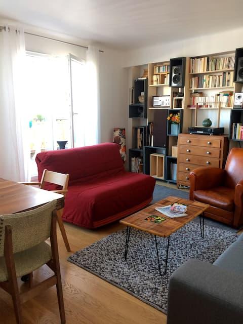 Bel appartement avec terrasse proche de Gambetta