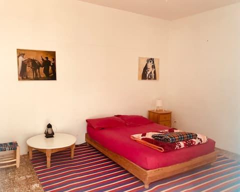 Chambre simple Gîte Le Nomade