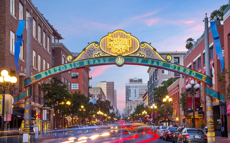 Heart of Gaslamp Downtown