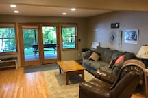 Another view of the lower living room