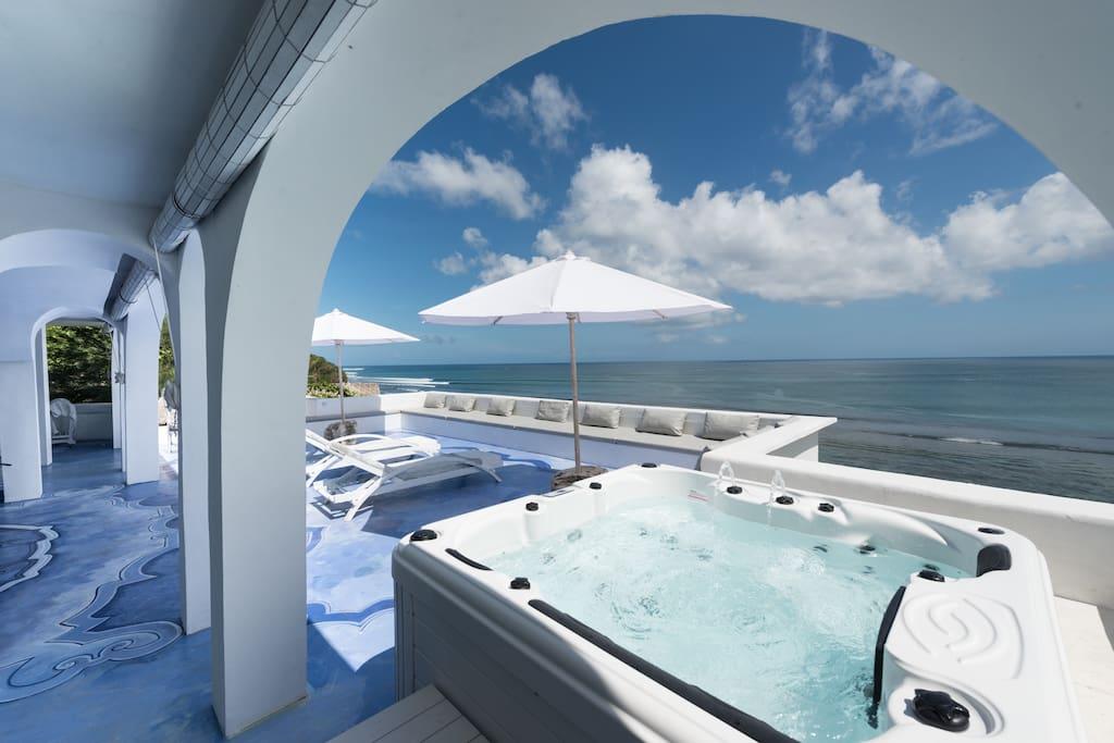 Santorini terrace in bingin beach bali wohnungen zur for Terrace 8 residence kuta