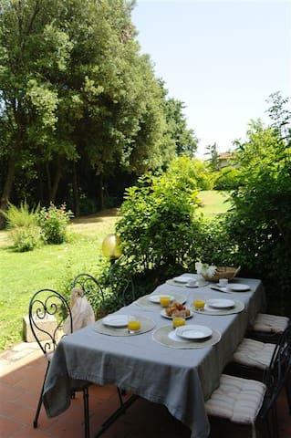 Casale Rodilosso/Fuchsia - Apartment Tuscany - Montaione - Apartment