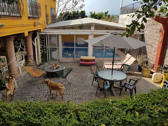 Tu casa en Ahuatepec con alberca