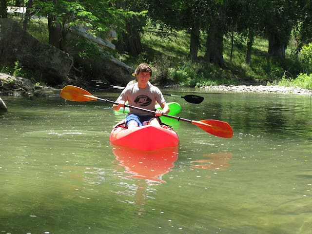 The River House , 12 ac on the Guadalupe River!!!
