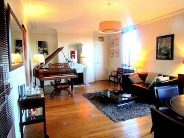 Face au Bois de Vincennes: Appartement d'artiste! - Saint-Maurice