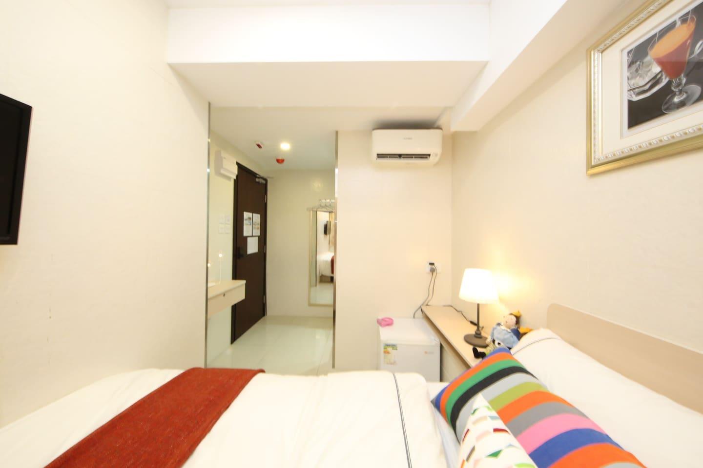 (no.203) Cozy room (1 double bed) in Tsim Sha Tsui
