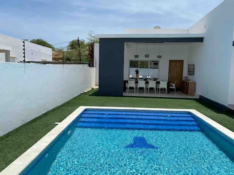 Excelente casa de praia na baía azul