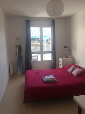 Chambre privée centre, Private room - Lille - Appartement