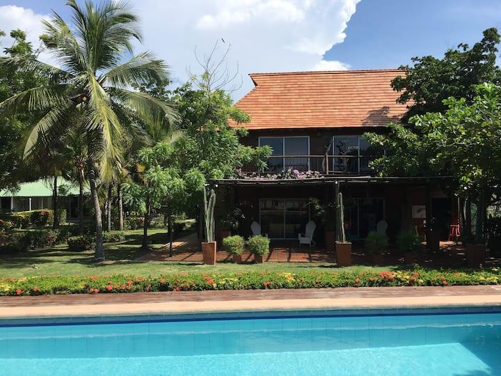 Casa de vacaciones y descanso