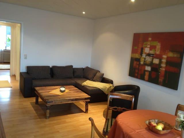 Gemütliche Wohnung mit Balkon - Duisburg - Appartement