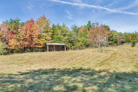 Comfortable farm apartment - Charlottesville - Hus